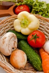 Ernährungsberatung - Gemüsekorb